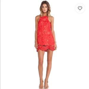 Lovers + friends caspian shift dress